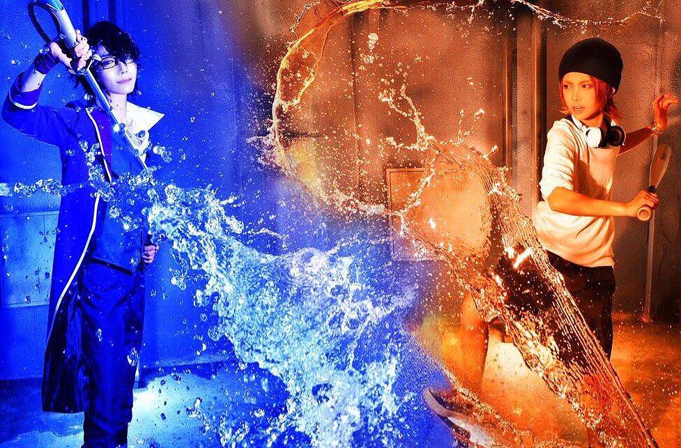 versus         K 伏見猿比古(樹理穴dis子)  八田美咲(松竹ねじめ) 撮影/レタッチ/ジュンペイ