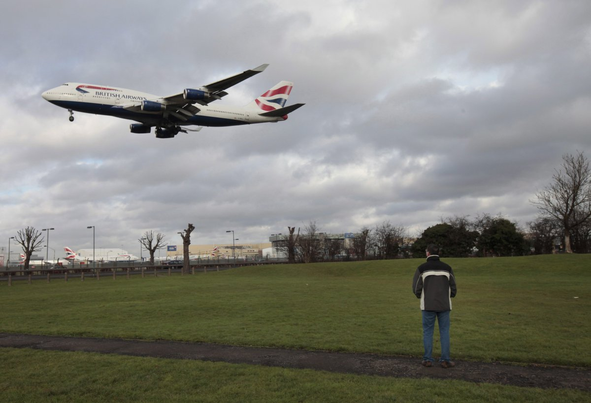 Large drone in near-miss with London airliner at 10,000 feet