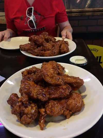 Let There Be Wings! (and beer)... Joe is about to go into full beast mode at Abe's Place. https://t.co/gIwvZia4X3. https://t.co/2EAPt9bwFy