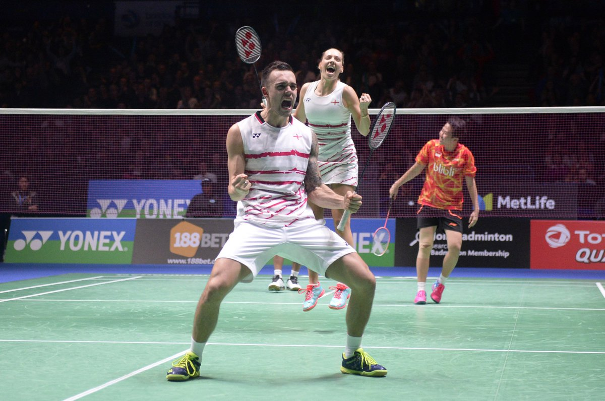 Third seeds chris and gabby adcock have reached the india open