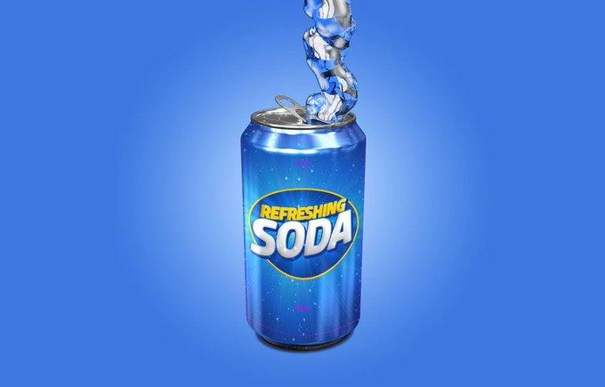Soda Can Mockup 3d 3dcan can free freebie freebies mockup pepsi soda