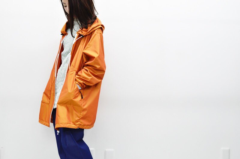 #HATRA IパーカーTFT - ORANGE - #CRACKFLOOR WEBSHOP