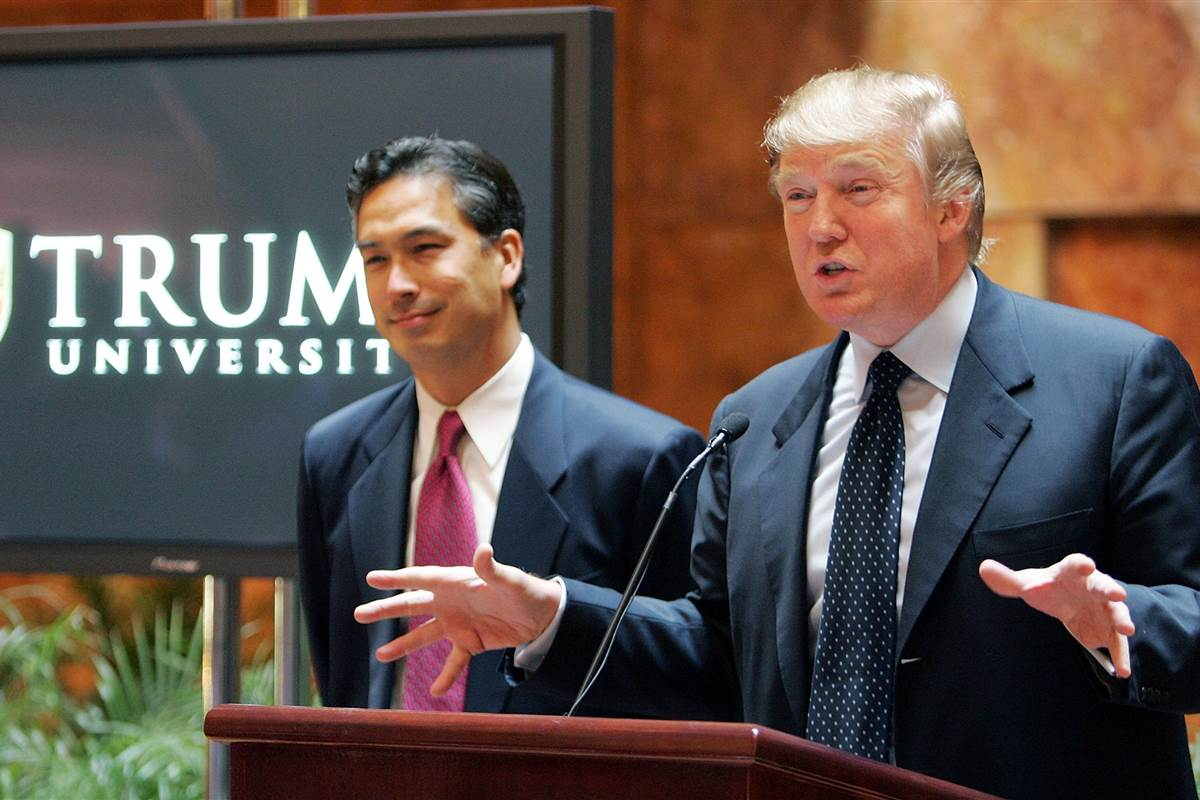 President Trump to pay $25M to former students of the now-defunct Trump University