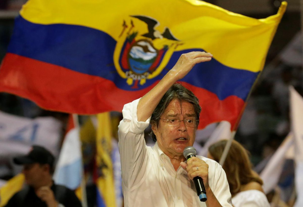 Ecuador set to decide whether South America will move further to the right
