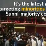 Car bombing targeting Shiite place of worship in Pakistan kills at least 24