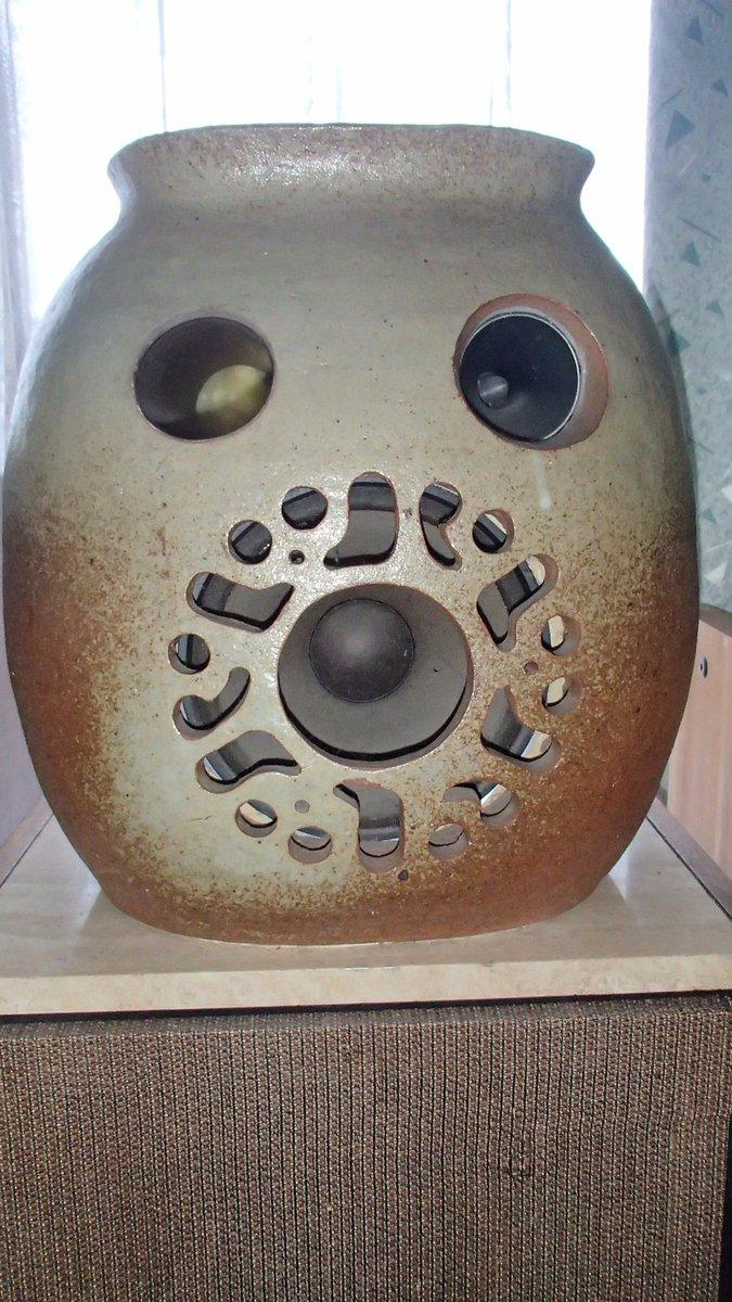 #ふらいんぐうぃっち #マンドレイク そっくりスピ-カ-陶器製で音もオオオ~~!