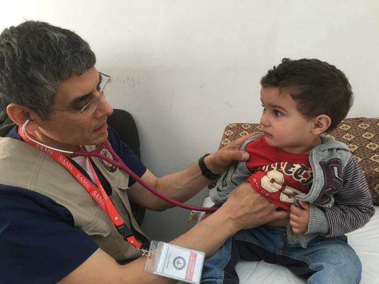 'They had no other options': U.S. doctors to treat Syrian refugees in Jordan