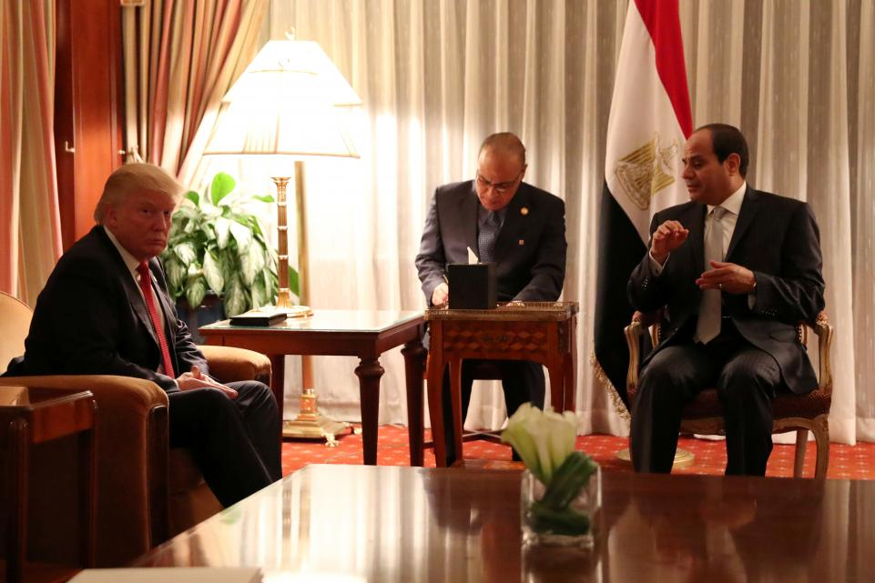 What to know about Egyptian strongman Abdel Fattah el-Sissi's visit Monday with Donald Trump
