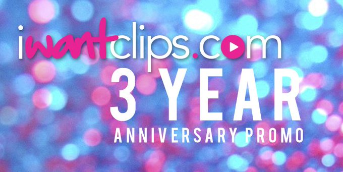 Has it already been 3 years?!? Let's celebrate by earning 80% all day and night! #iwantclipsanniversary