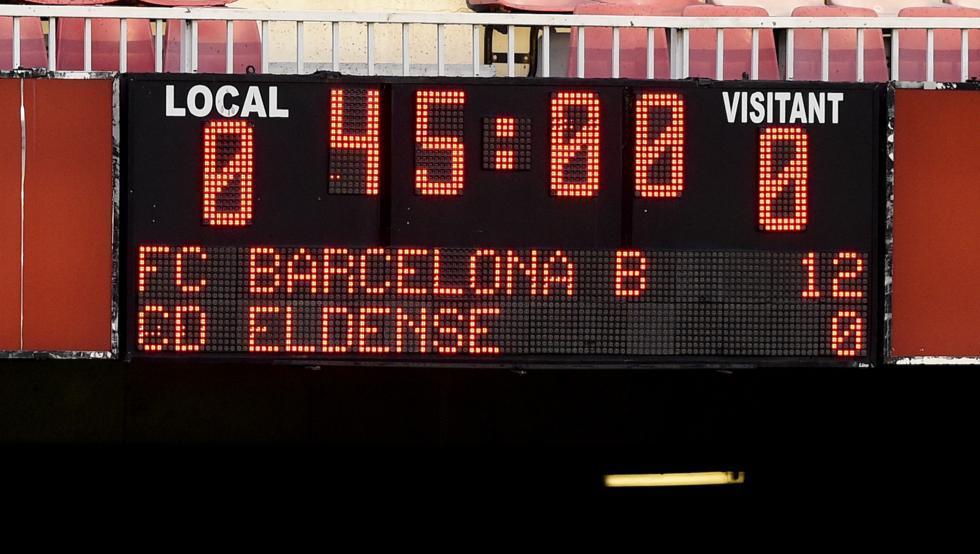 RT @mundodeportivo: La histórica goleada que ha igualado el Barça B https://t.co/tMAauAeW0W Por @jbatalla7 https://t.co/sO25gYvO2E
