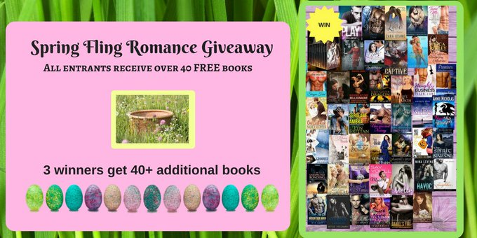 Spring Fling #Romance #Giveaway