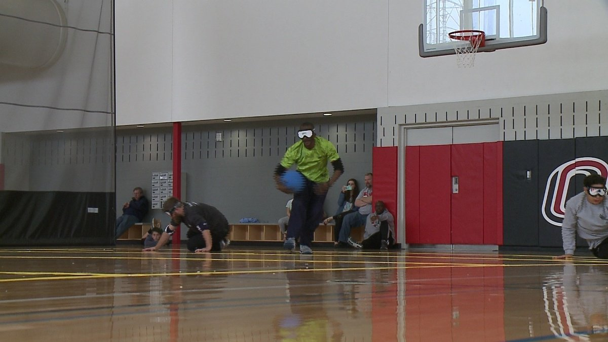 Blind athletes compete in goalball tournament at UNO