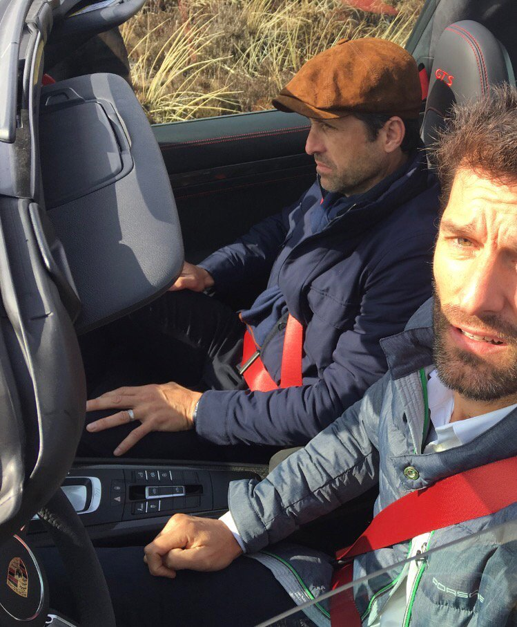 RT @AussieGrit: Think @PatrickDempsey fancied driving.... ???????????? https://t.co/itiDoi8FQA