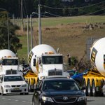 Hundreds of trucks and motorbikes raise more than $200K through Canberra's cancer convoy