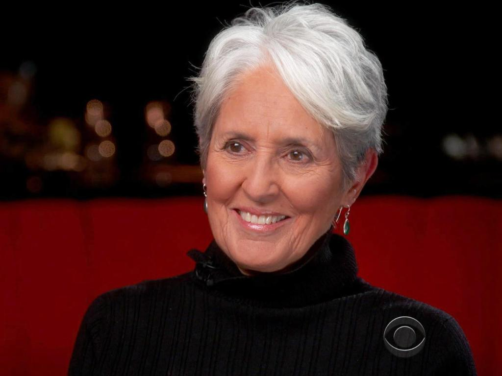 Joan Baez talks with @AnthonyMasonCBS about the need for protest music: