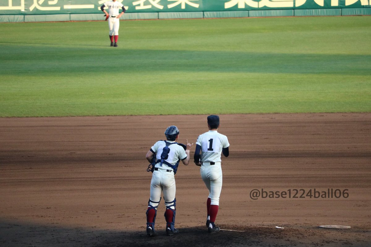 第89回 選抜高校野球       ⚾︎3 . 2 9⚾︎大 阪 桐 蔭 バッテリー# 1 徳 山 壮 磨 く ん# 3