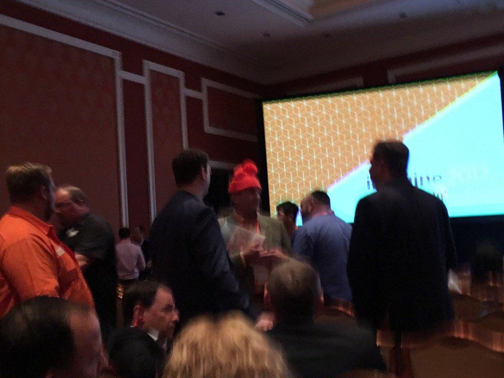 jamersan: Orange shirts. Funny hats. #roadToImagine https://t.co/iqkCmwz2u2