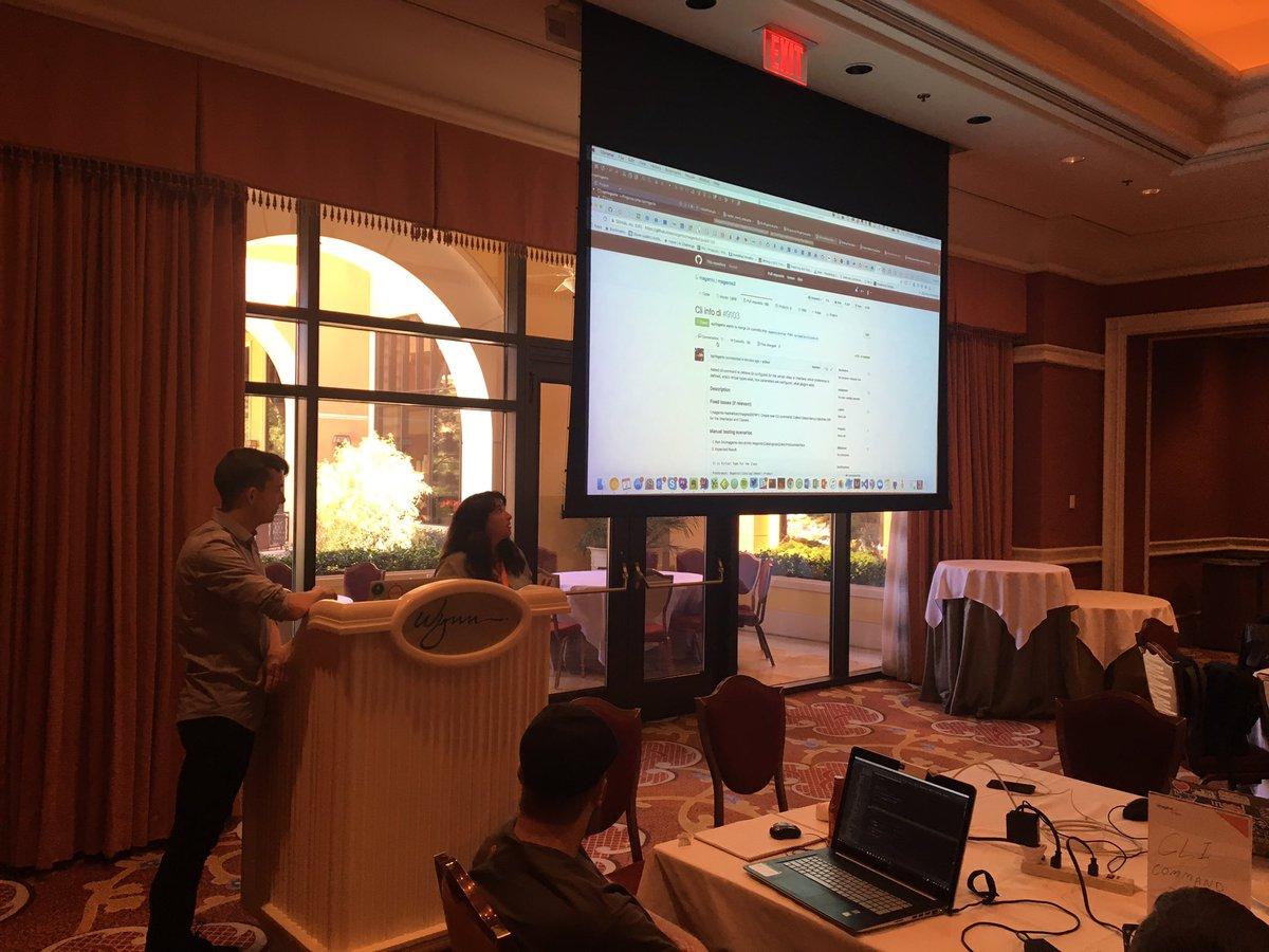 d_rbn: Presentations have begun for the #Magentoimagine Hackathon! https://t.co/yvskQrIIsa