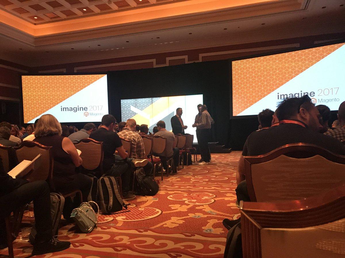 fisheyeweb: #MagentoImagine Partner Summit kicking off https://t.co/13qvQSmVw0