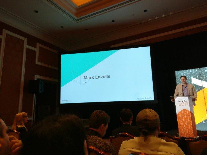 netz98: Marc Lavelle is opening the partner summit. #MagentoImagine https://t.co/HWFuqK1EAO