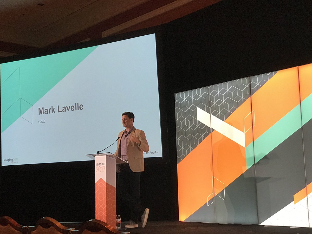 wearejh: . @magento CEO @mklave1 gets the Partner Summit underway! We're excited to see what he has to say #MagentoImagine https://t.co/AZFywdgfXR