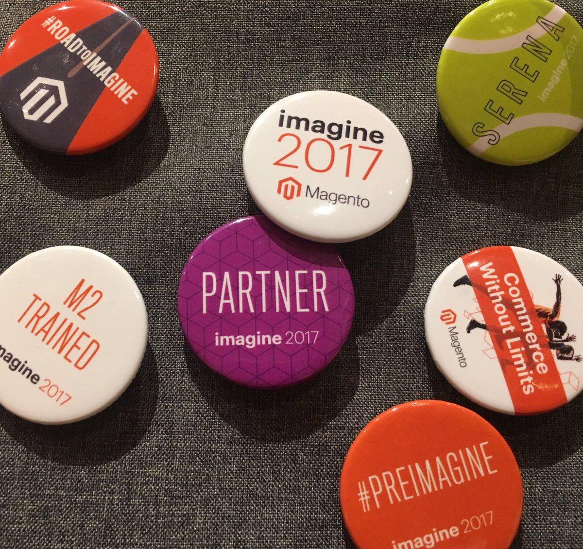 atwixcom: Coolest pins at #Magentoimagine registration! #magento #magentoimagine2017 https://t.co/wbWj2zyTZx