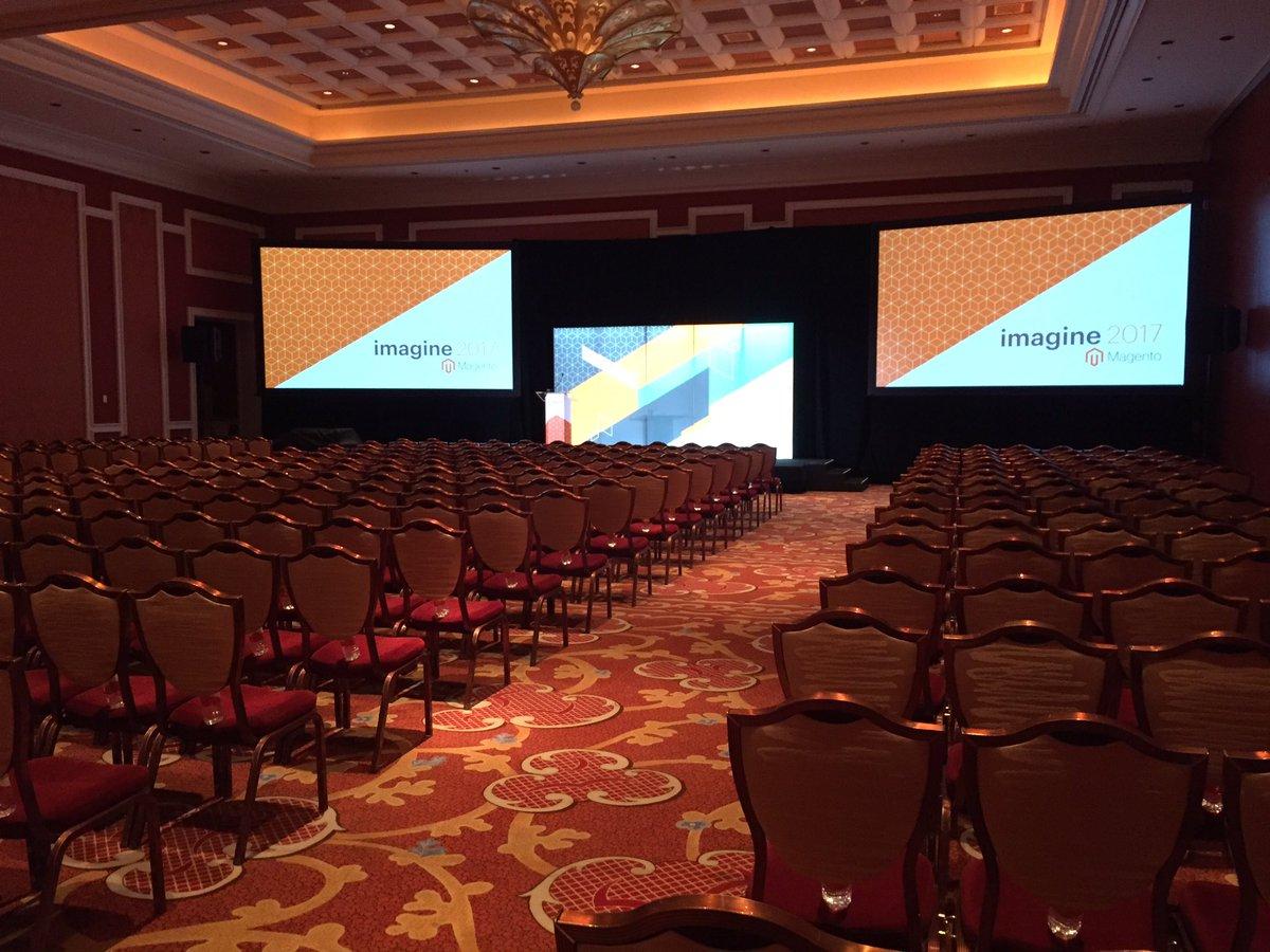 _acidgreen: Kickoff @ Magento Partner Summit #Magentoimagine Las Vegas #acidgreen https://t.co/ThSJVR7gCd