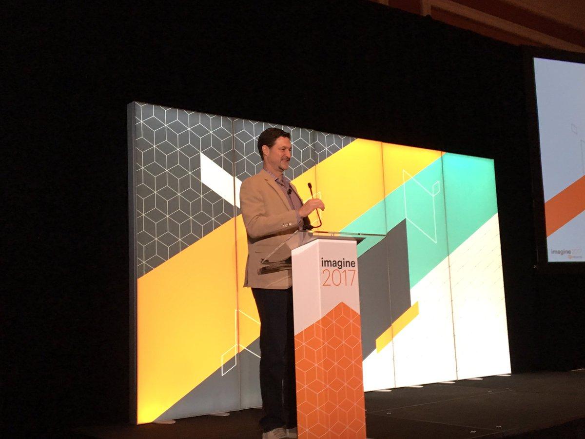 JoyDaniels: #Magentoimagine kicking off the Partner Summit @magento https://t.co/zdbkJmHanr