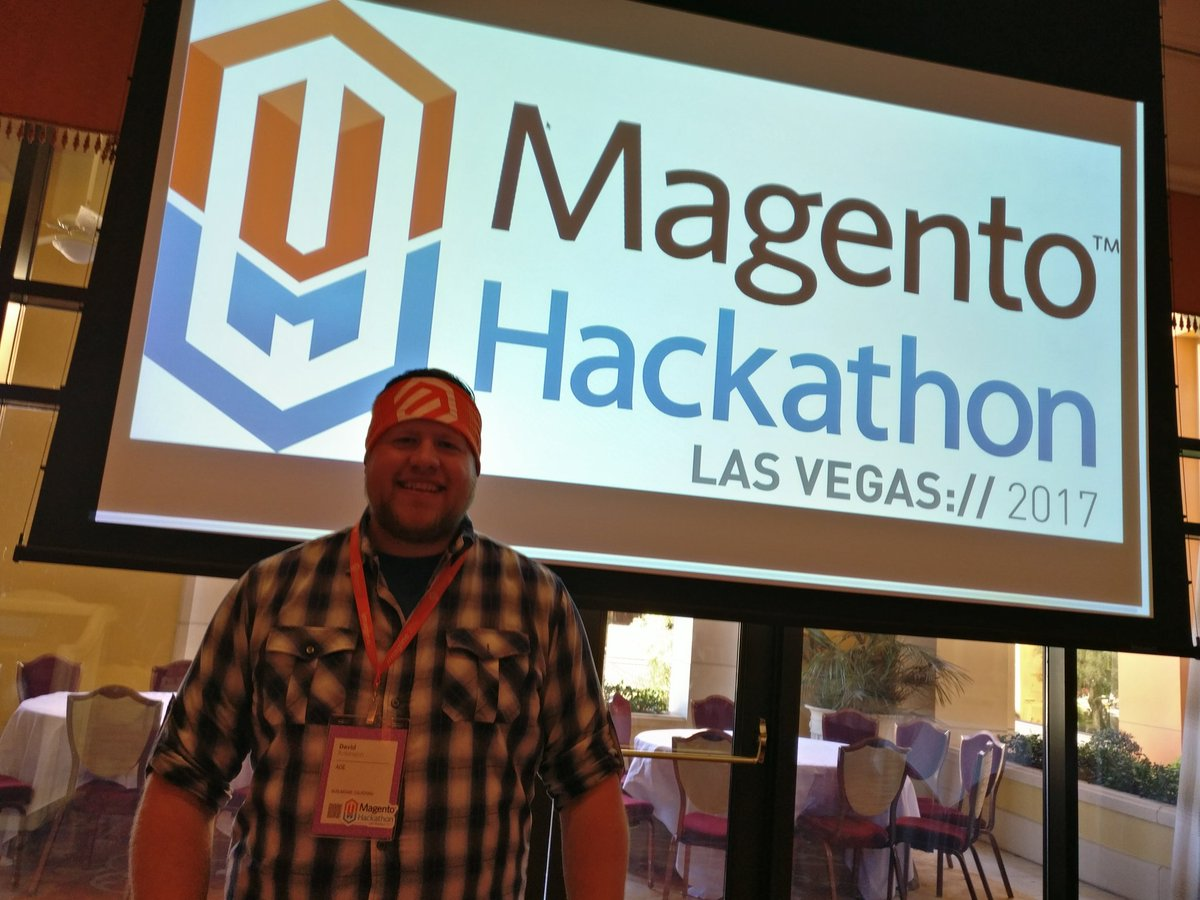 sherrierohde: Huge thanks to @d_rbn and @aoepeople for organizing and sponsoring the #MagentoImagine hackathon! 🙌 https://t.co/QdGYn7cjzL