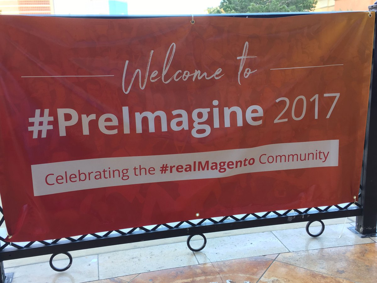 DEGdigital: The fun is beginning at #PreImagine!  We are proud to sponsor this great #realmagento community event! https://t.co/37gUv3naRj