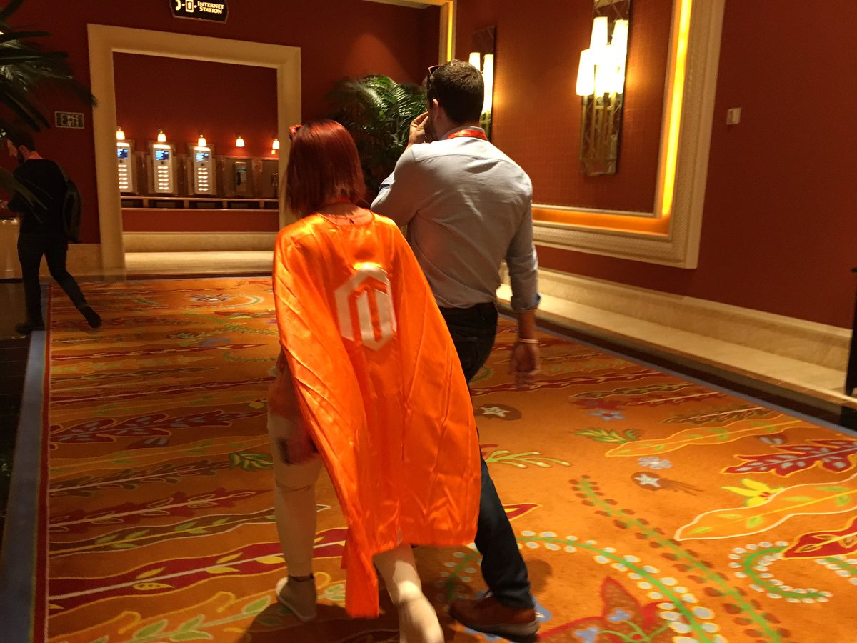 atwixcom: Superwoman spotted. Looks very much like @sherrierohde #Magentoimagine https://t.co/MrWT7KQjzY