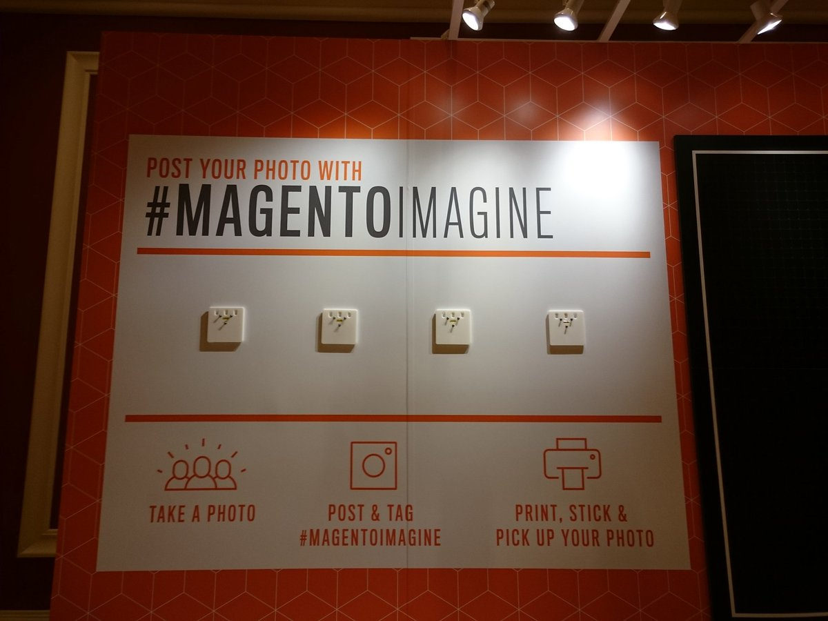 magento_rich: Don't forget to tag your Instagram and Twitter pics! #MagentoImagine https://t.co/ItoUzVcWaT