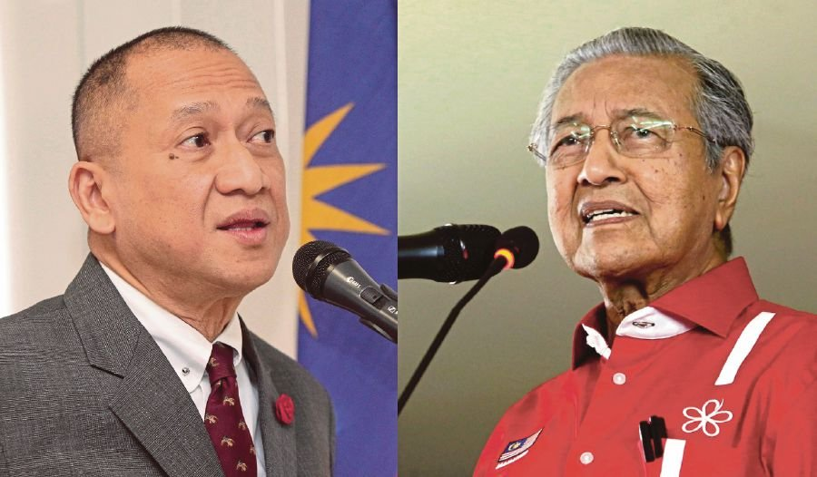 Frustrated Nazri proposes cancelled debate with Tun M be held in Antarctica