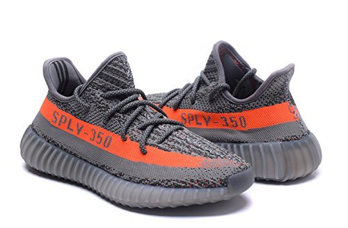 #fashion #shoes #running #free #style #giveaway #win Adidas Yeezy 350 Boost V2 Gray Orange #rt
