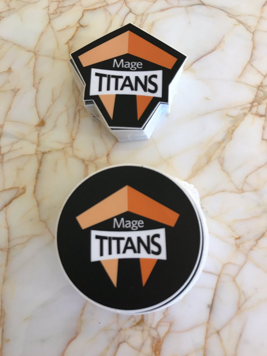 tonegolf71: I have @MageTitans stickers if anyone wants one? If you see me, ask me 😀#Magentoimagine #magentoimagine2017 https://t.co/XKt8CxNkvH