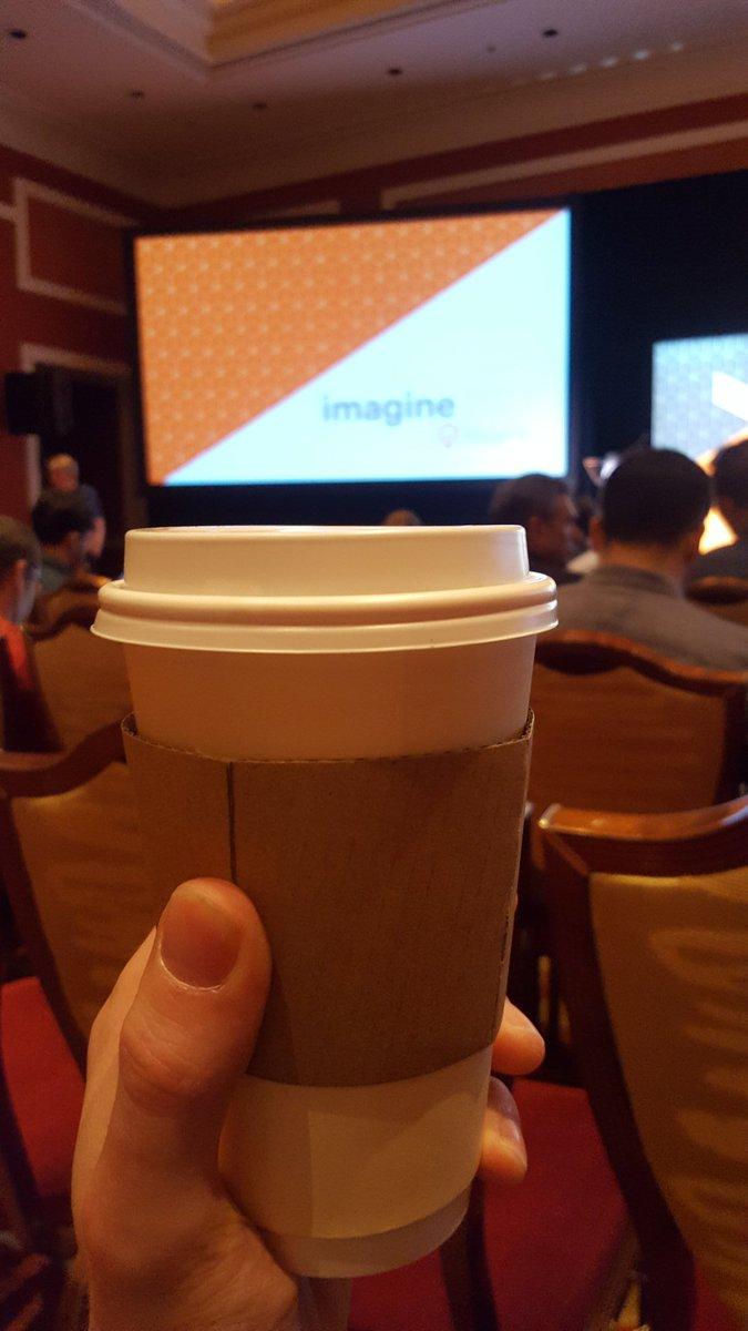 MathiasHjelt: #MagentoImagine lunch was great, but #BigCoffeeRun needed to locate & buy coffee.. https://t.co/yCewWjJX56