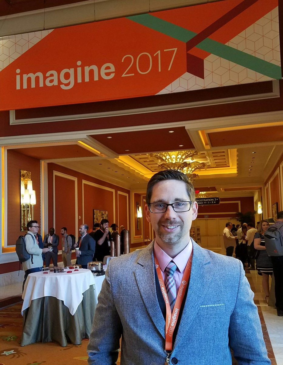 TJ_McDowell: Excited for start of #MagentoImagine ! https://t.co/sWOBhvQQR3