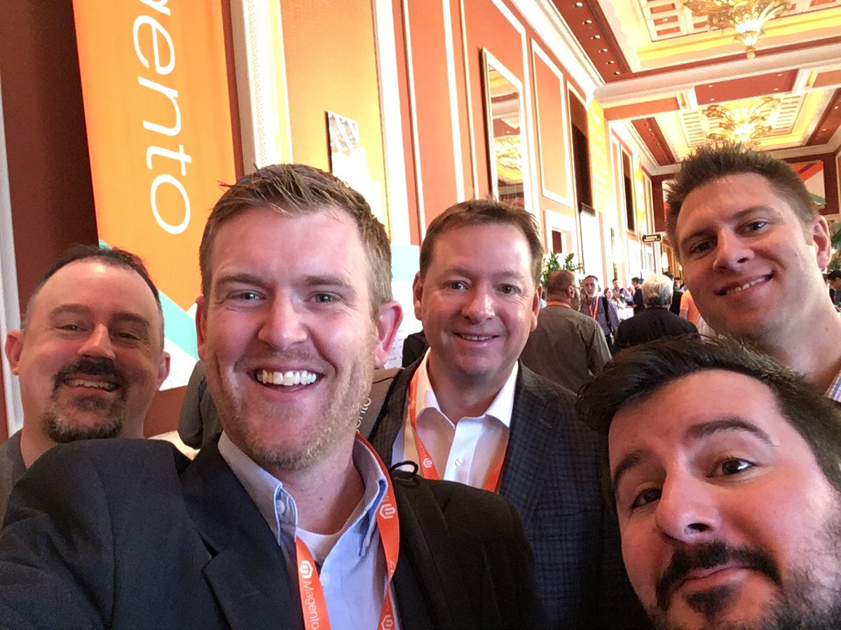 benjaminrobie: Good morning #MagentoImagine!  Have an awesome day 1! #deglife https://t.co/bxrvmr9ZXB
