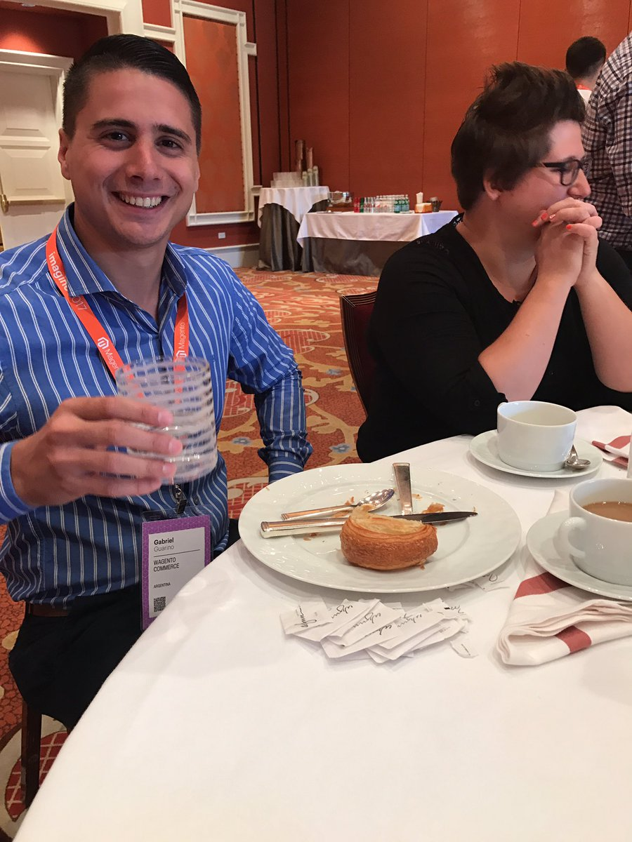 brentwpeterson: The leftover form @GuarinoMagento master breakfast @rescueAnn #Magentoimagine https://t.co/uND1NGo2a3