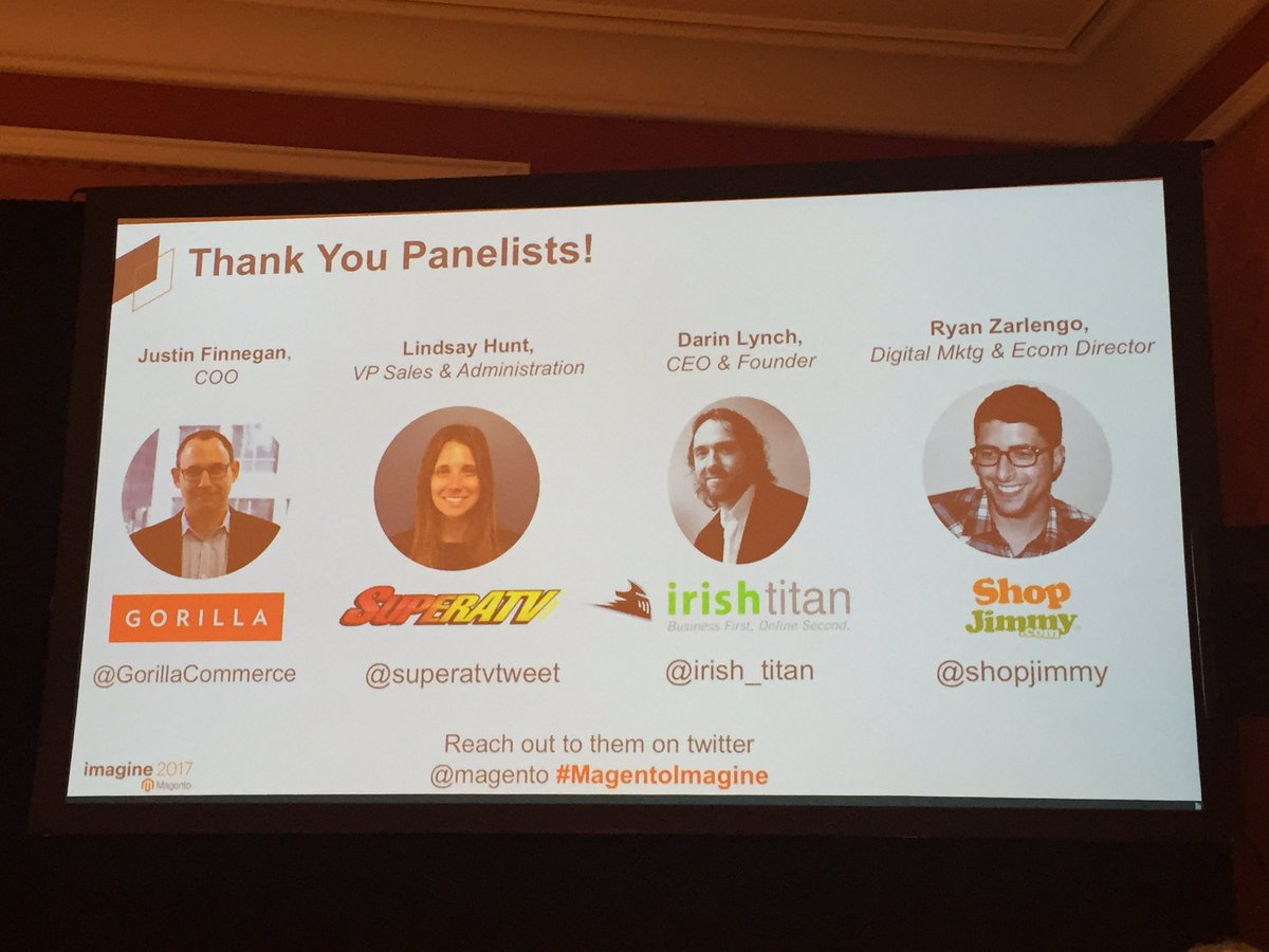 MaximBaybakov: Fantastic talk on #paymentstrategy sponsored by @Paypal #MagentoImagine #PaypalAU https://t.co/6JshX91rNj