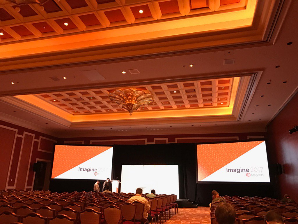 JamesZetlen: Here, at #Magentoimagine at 2:30 PM, you'll finally learn what the new guy thinks of Magento 2 frontend... https://t.co/Ol9wOVvItL