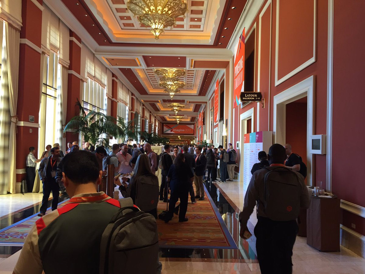 paymentschief: Good morning Las Vegas #MagentoImagine https://t.co/TKZWNr6OTF