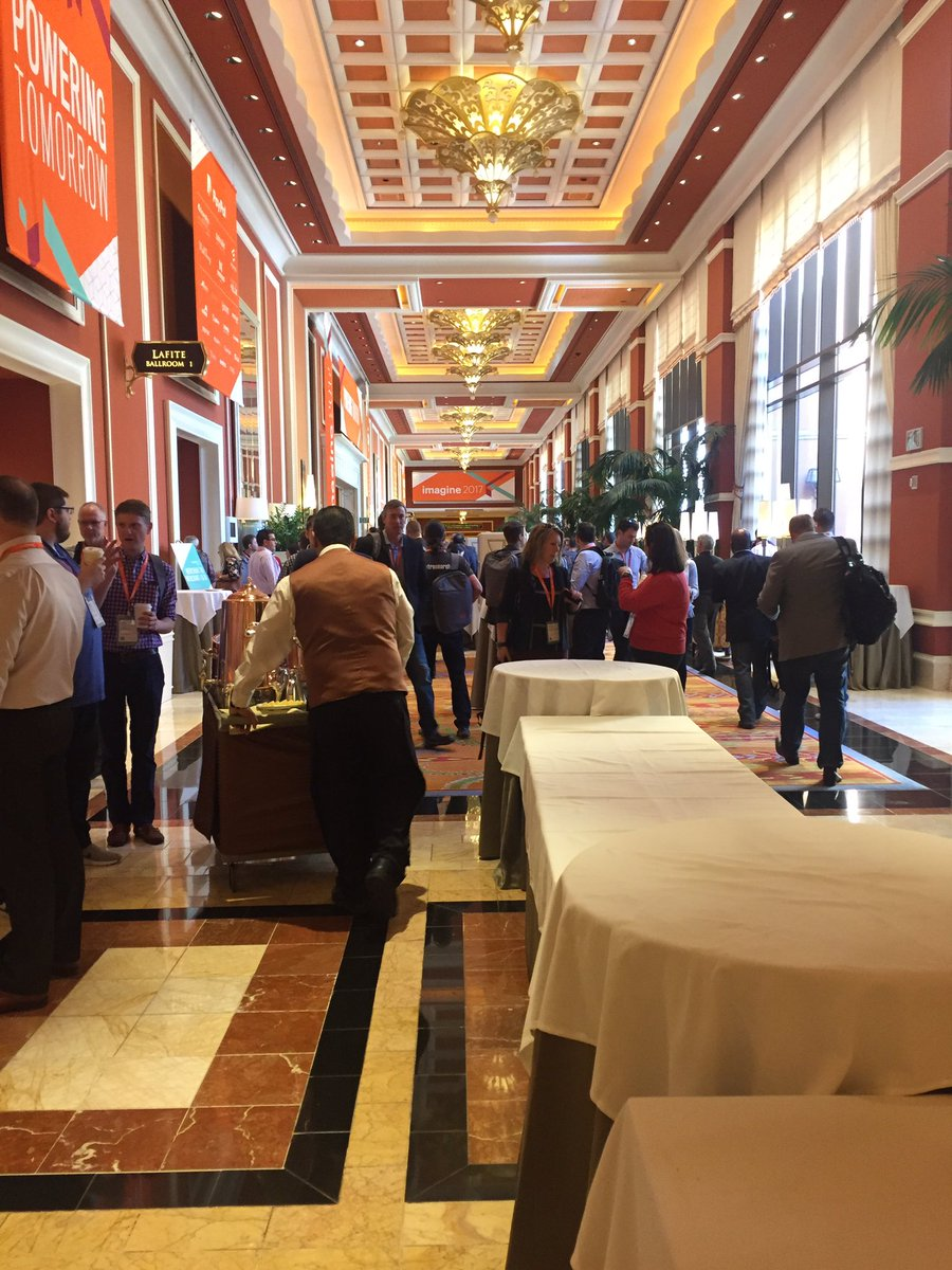 tory_bum: The first day of Magento Imagine. #MagentoImagine #atwix https://t.co/ygGTBUg5Z5