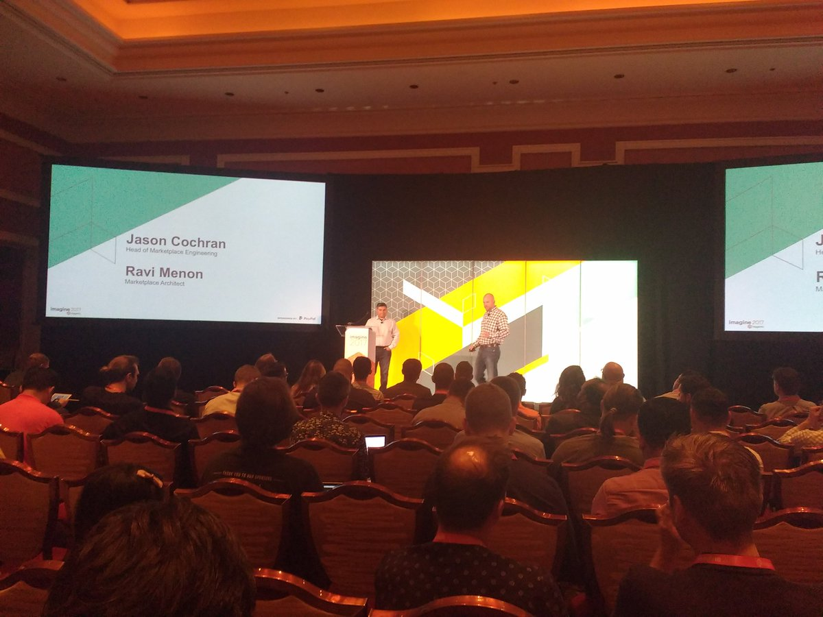 avstudnitz: First Talk at #Magentoimagine: Details about the Marketplace. https://t.co/jdIf7SYxWC