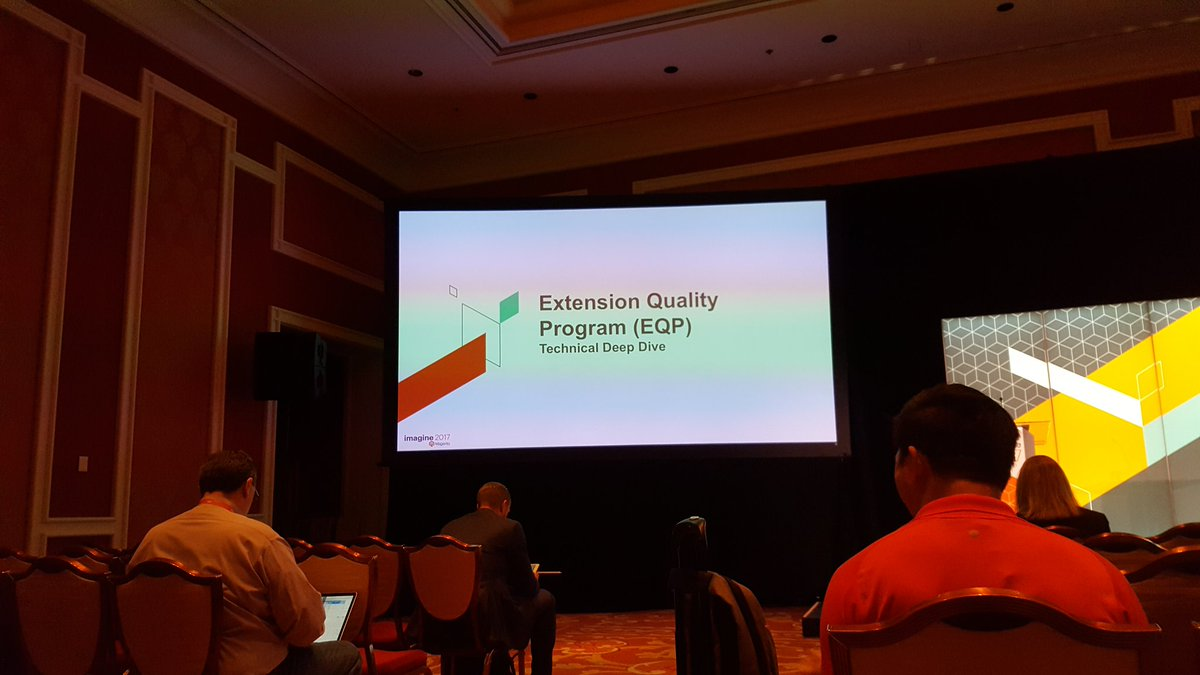 mgeoffray: First meeting of #magentoimagine Extension Quality Program (EQP) by @jason_c_cochran #realmagento #Magento https://t.co/ksvbAjq5om