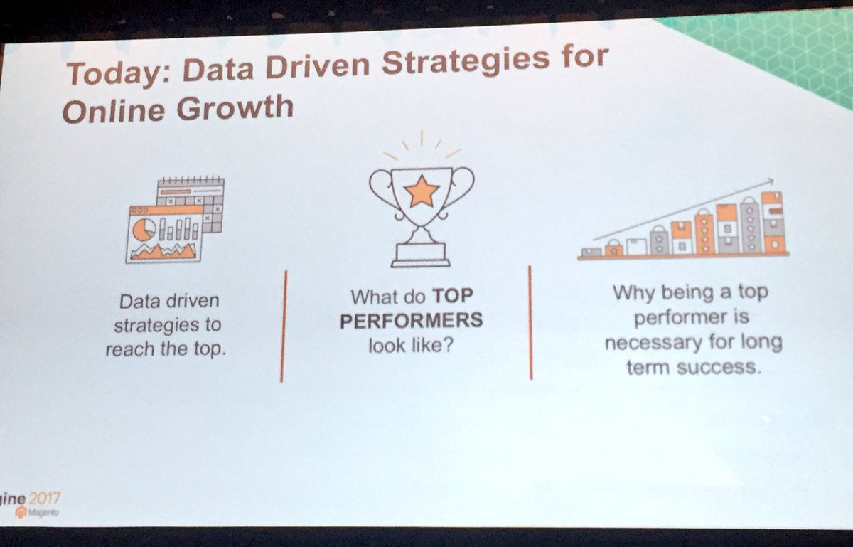 annhud: We can tell why companies are top performers with #MagentoBI #Magentoimagine https://t.co/YdBqQ7HlN4