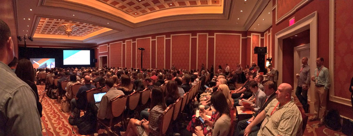 sonjarierr: First session at #Magentoimagine: Advanced Marketing Features of #Magento2 https://t.co/msZqsBFT0b