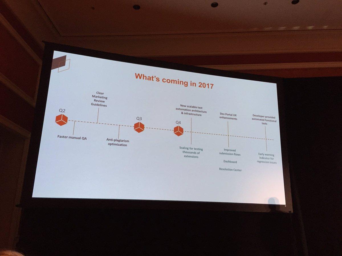 OSrecio: Roadmap of Magento Marketplace Quality Progam #Magentoimagine https://t.co/4bB8a42tWs