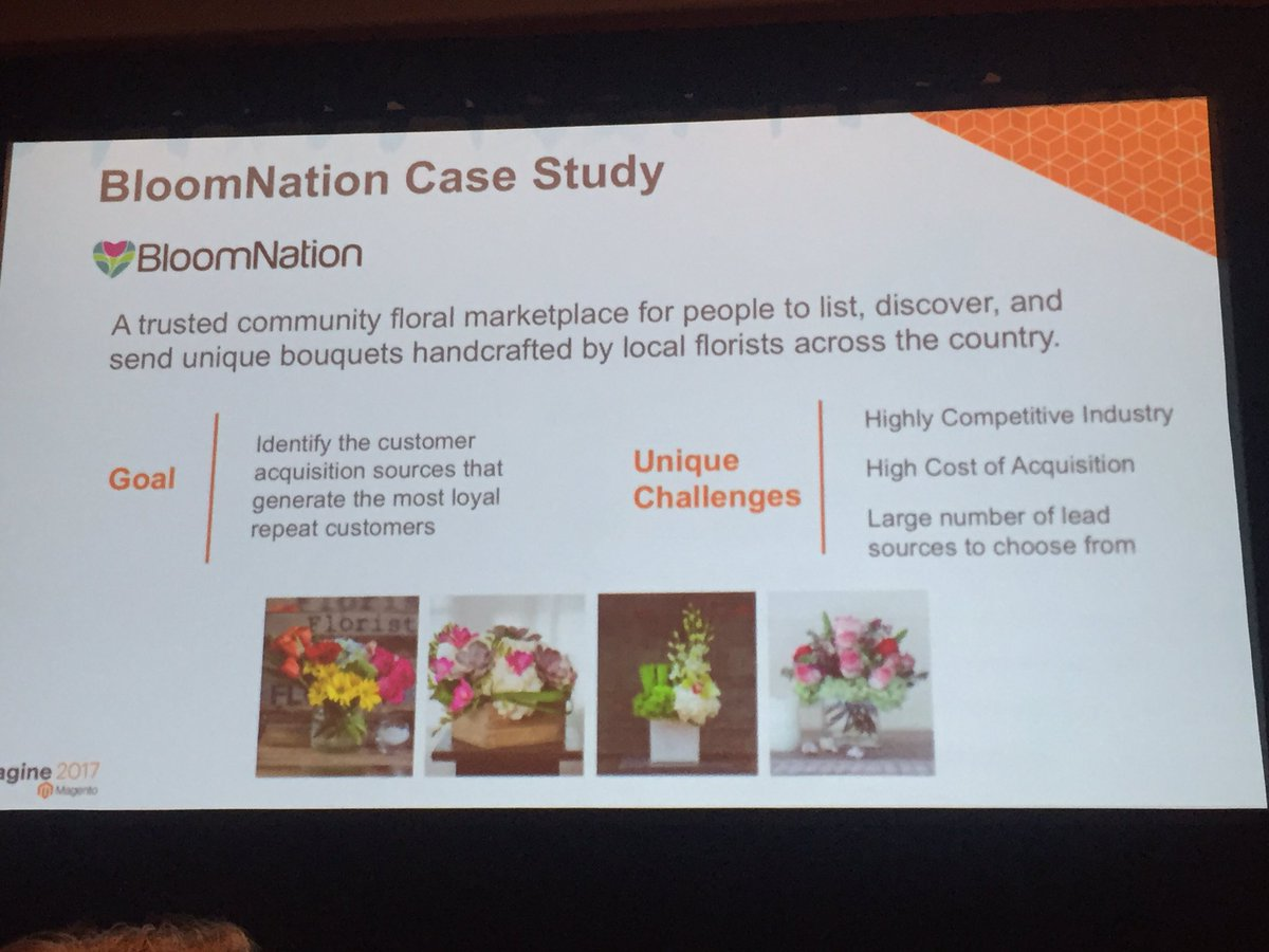 annhud: Case study: @BloomNation. Data crucial in floral industry #magentoBI #MagentoImagine https://t.co/pz9anhnA6W