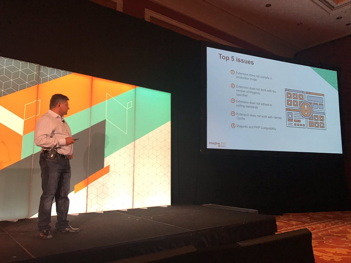 tsoroka_: Top 5 issues why extension failed the EQP Magento Marketplace review #MagentoImagine #realmagento https://t.co/gscrlTO5H5